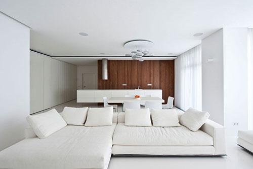 Witte woonkamer inrichten | Interieur inrichting