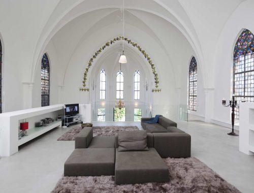 Wonen in een kerk