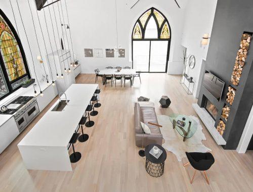Wonen in een voormalige kerk