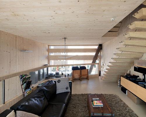 Woning met milieuvriendelijk ontwerp interieur inrichting for Interieur inrichting