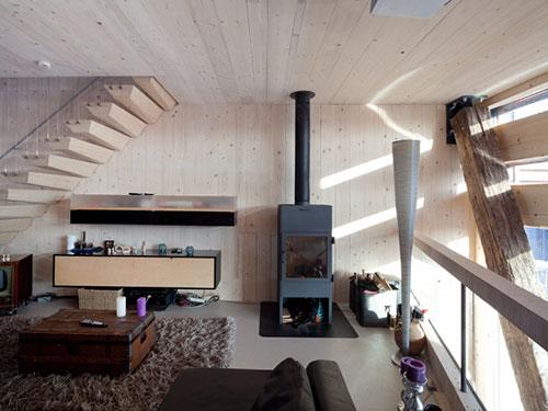 Woning met milieuvriendelijk ontwerp   Interieur inrichting