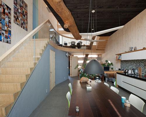 Woning met milieuvriendelijk ontwerp