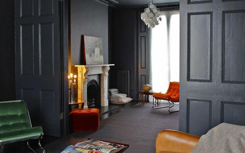 Woning met zwart interieur van graham interieur inrichting - Mooi huis deco interieur ...