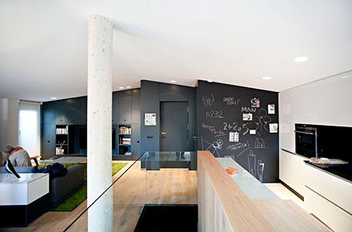 woonkamer op e verdieping  interieur inrichting, Meubels Ideeën
