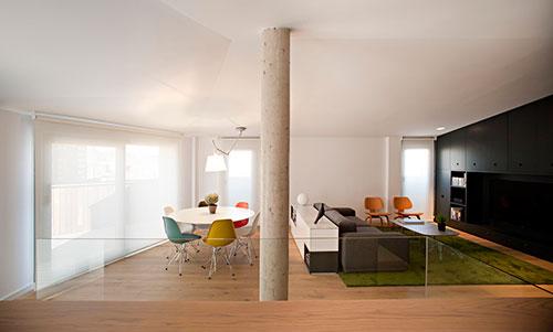Woonkamer Op Bovenverdieping : Woonkamer op e verdieping interieur inrichting