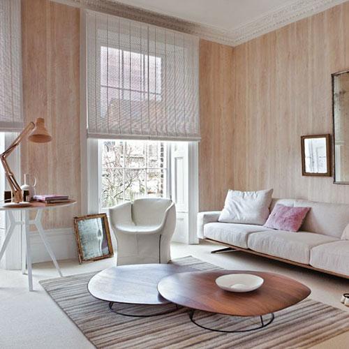 woonkamer behang idee ninterieur inrichting interieur