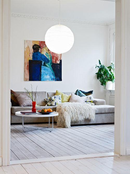 Woonkamer ideeën van appartement Gothenburg