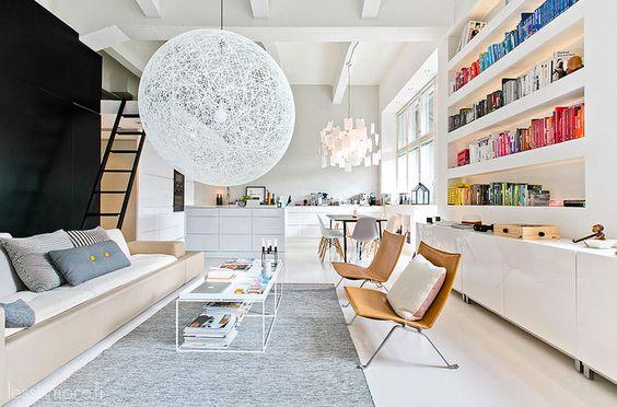 woonkamer ideeën boeken sorteren op kleur