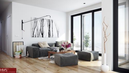 woonkamer ideeën conceptfoto's hms | interieur inrichting, Deco ideeën