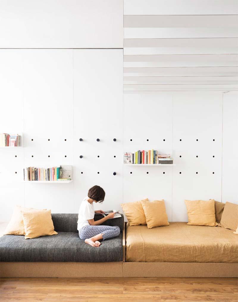 woonkamer ideeën gaatjesbord