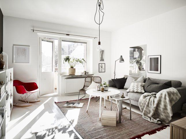 woonkamer ideeën hanglamp boven salontafel