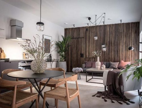 woonkamer ideeën houten
