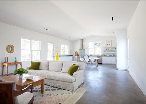 Woonkamer ideeu00ebn met beton : Interieur inrichting