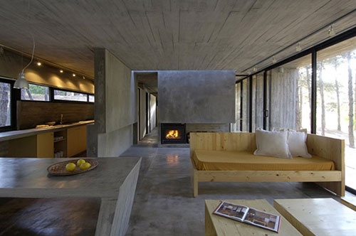 woonkamer ideeën met beton  interieur inrichting, Meubels Ideeën