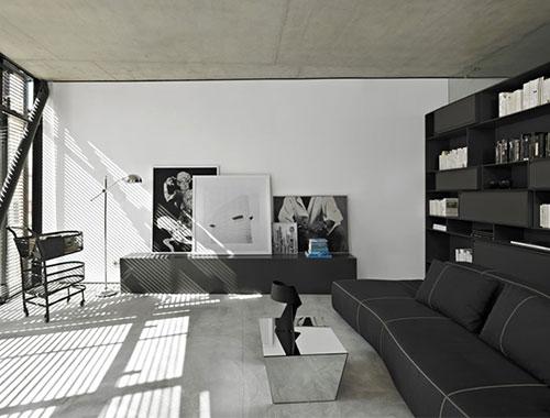 Ideeen Voor Woonkamer Muur : Woonkamer ideeën met beton Interieur ...
