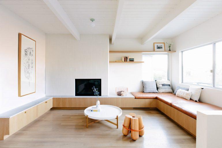 woonkamer ideeën u-vormige maatwerk meubel