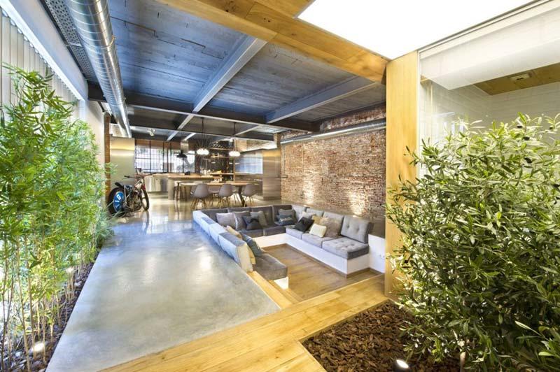 woonkamer ideeën verzonken lounge
