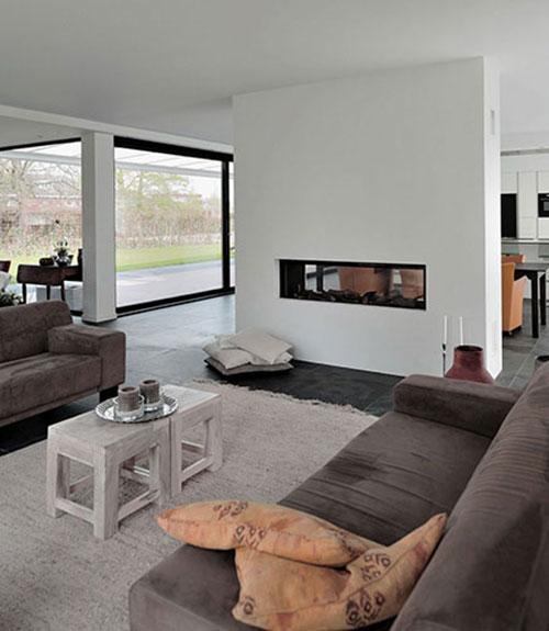 woonkamer open haard en tv ~ lactate for ., Deco ideeën