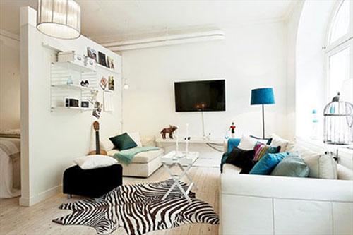 Woonkamer inrichten met roomdevider interieur inrichting Inrichting kleine woonkamer