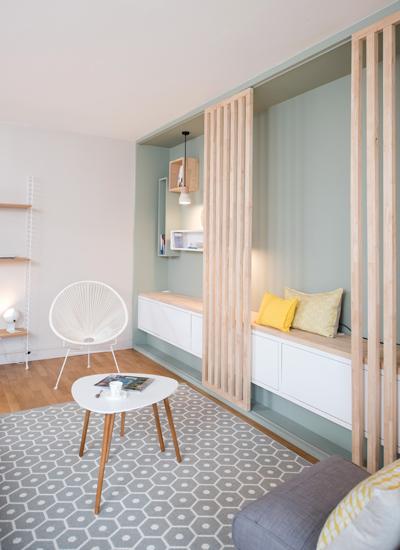 woonkamer makeover met een scandinavisch tintje interieur inrichting. Black Bedroom Furniture Sets. Home Design Ideas