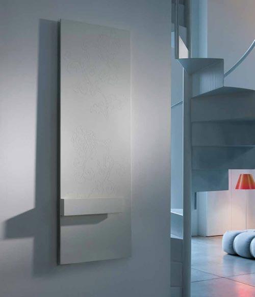 Design radiator woonkamer