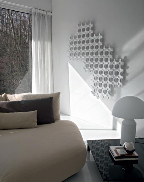 design radiatoren woonkamer gamma