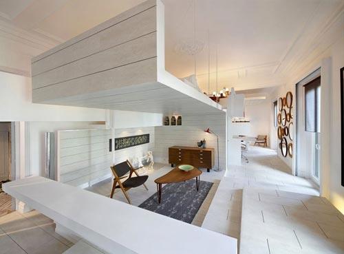 Woonkamer en slaapkamer in één! | Interieur inrichting
