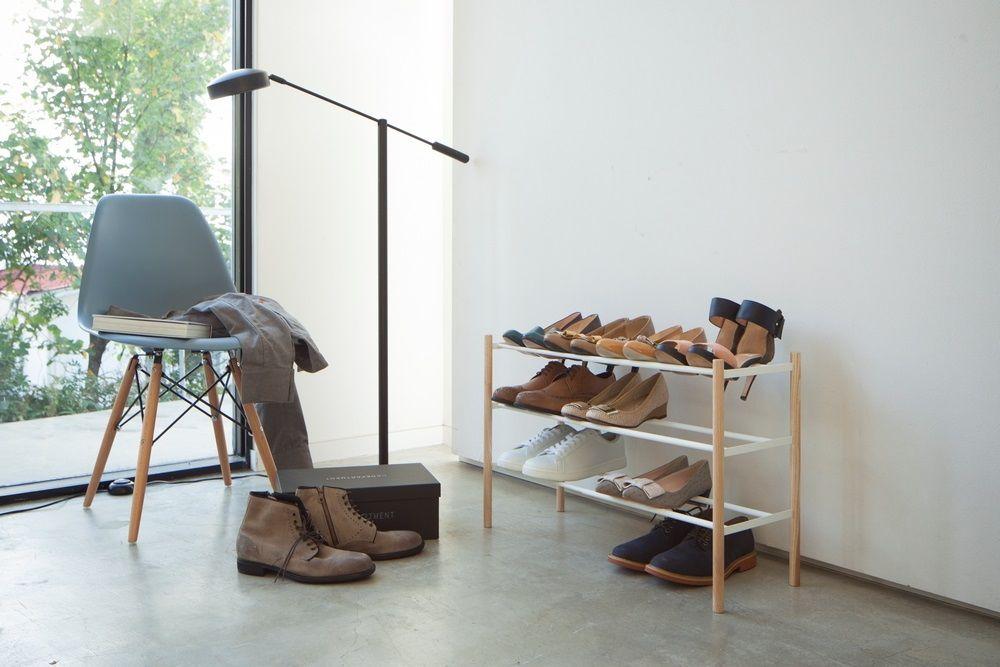 yamazaki plain uitbreidbaar schoenenrek