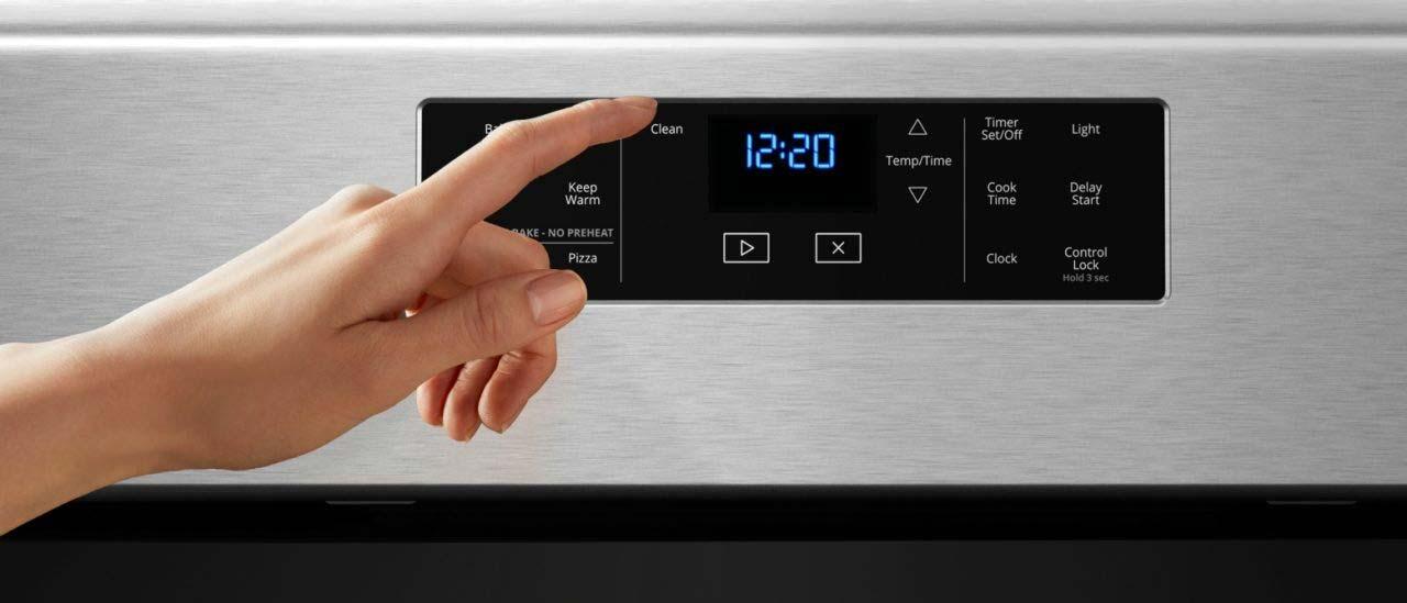zelfreiniging functie oven
