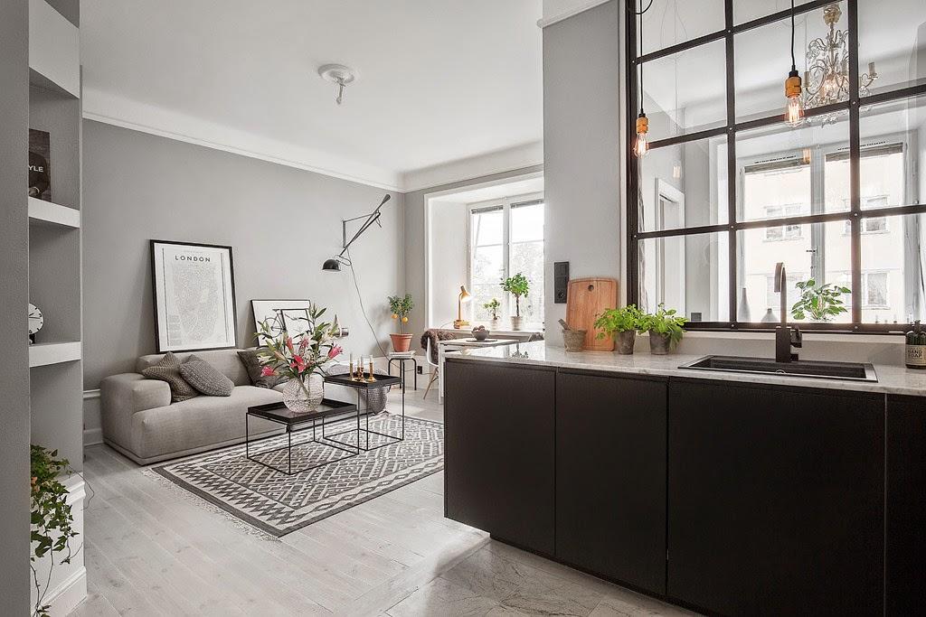 Deze kleine woonkamer heeft alles interieur inrichting - Ontwikkel een kleine woonkamer ...