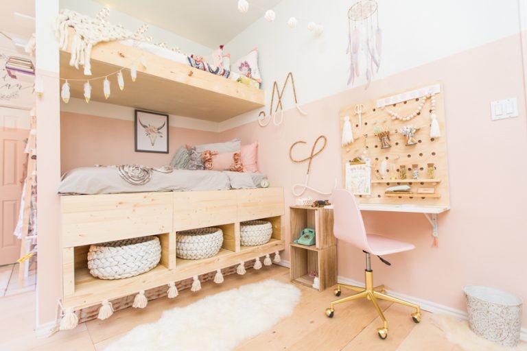 Kinderkamer Kinderkamer Bedden : Zusjes madison en lilian door ouders verrast met super leuke