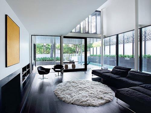 Zwart interieur | Interieur inrichting