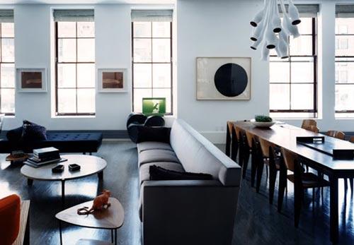 zwart interieur interieur inrichting