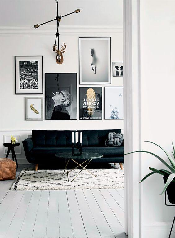 Zwart wit fotoposter's