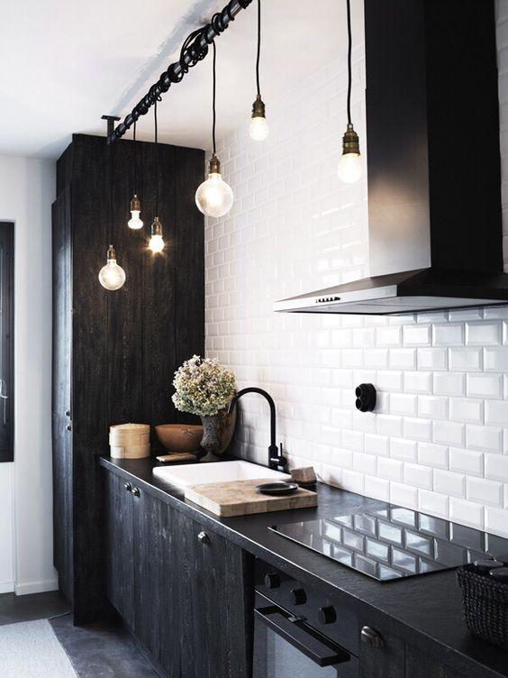 zwart-wit-keuken