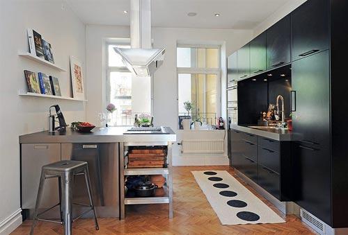 Zwarte Landelijke Keuken : Zwarte keuken Interieur inrichting
