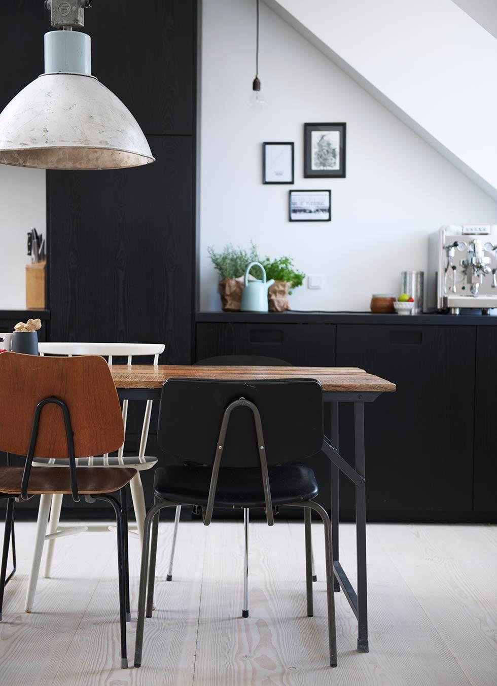 Zwarte keuken van Deense juwelier Annette
