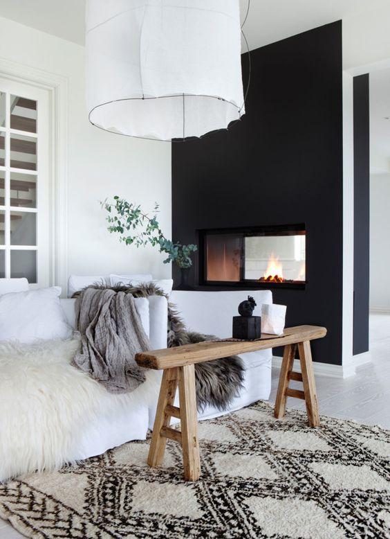 15x Zwarte muur | Interieur inrichting