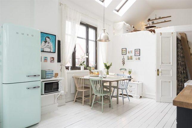 Open keuken in appartement beste inspiratie voor huis ontwerp - Een klein appartement ontwikkelen ...