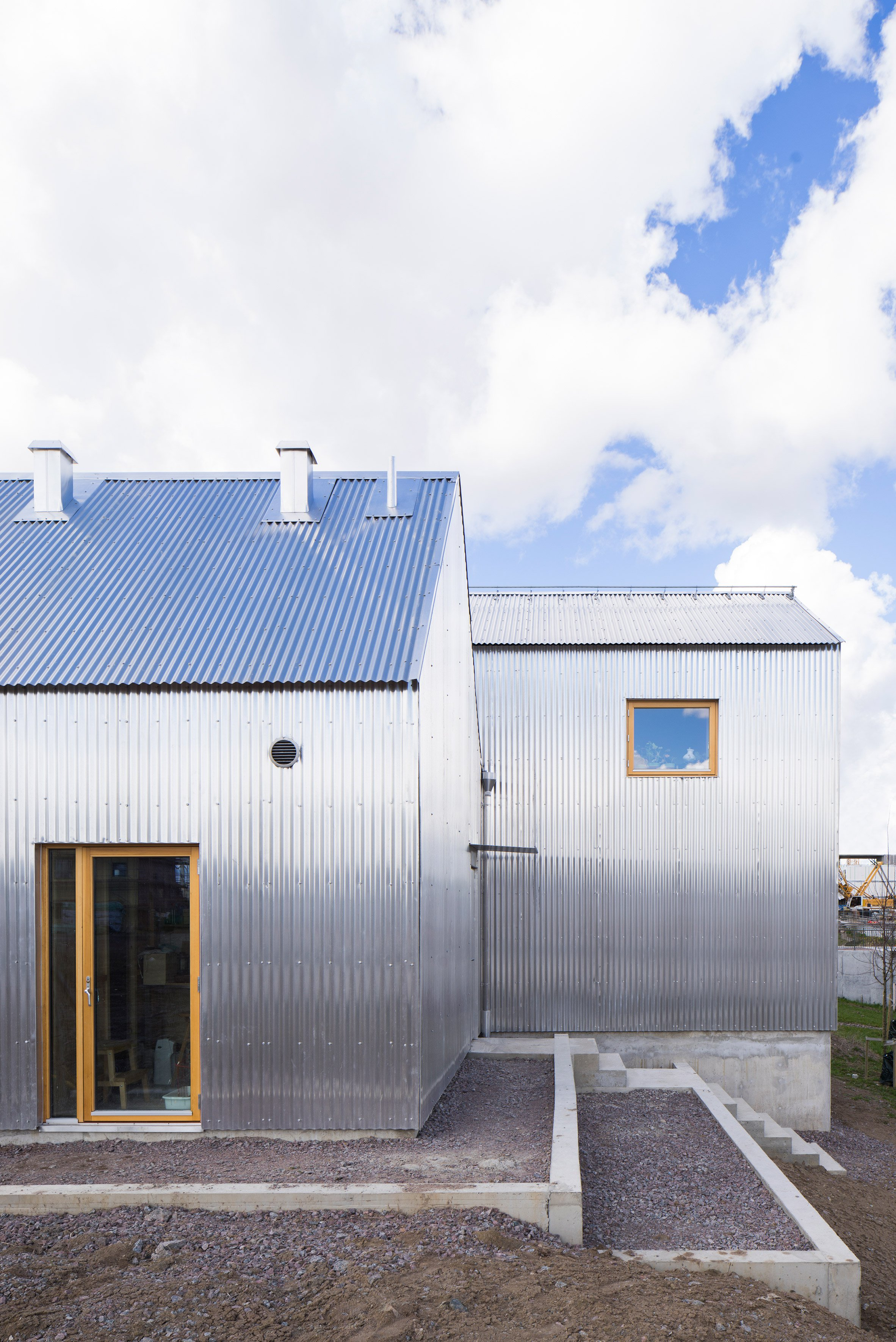 Zweedse architect ontwerpt unieke woning voor zijn moeder