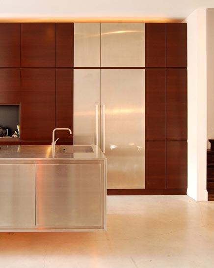 Zwevende vloer keuken - Open keuken idee ...
