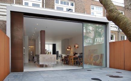 Keuken glazen uitbouw home design idee n en meubilair inspiraties - Open keukeninrichting ...